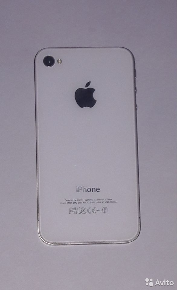 Телефон iPhone 4S 8GB  89136324377 купить 1