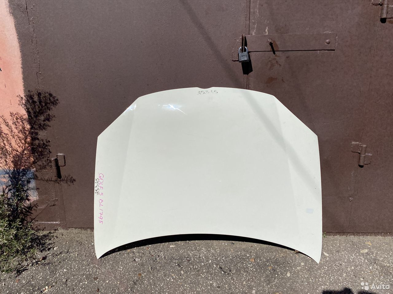 Капот белый Volkswagen Jetta 5, Golf 5 №2  89534684247 купить 1