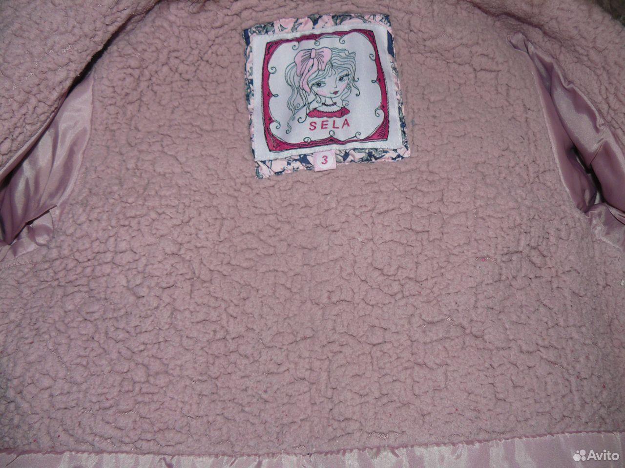 Пальто осеннее sela на 3 года  89871288618 купить 2