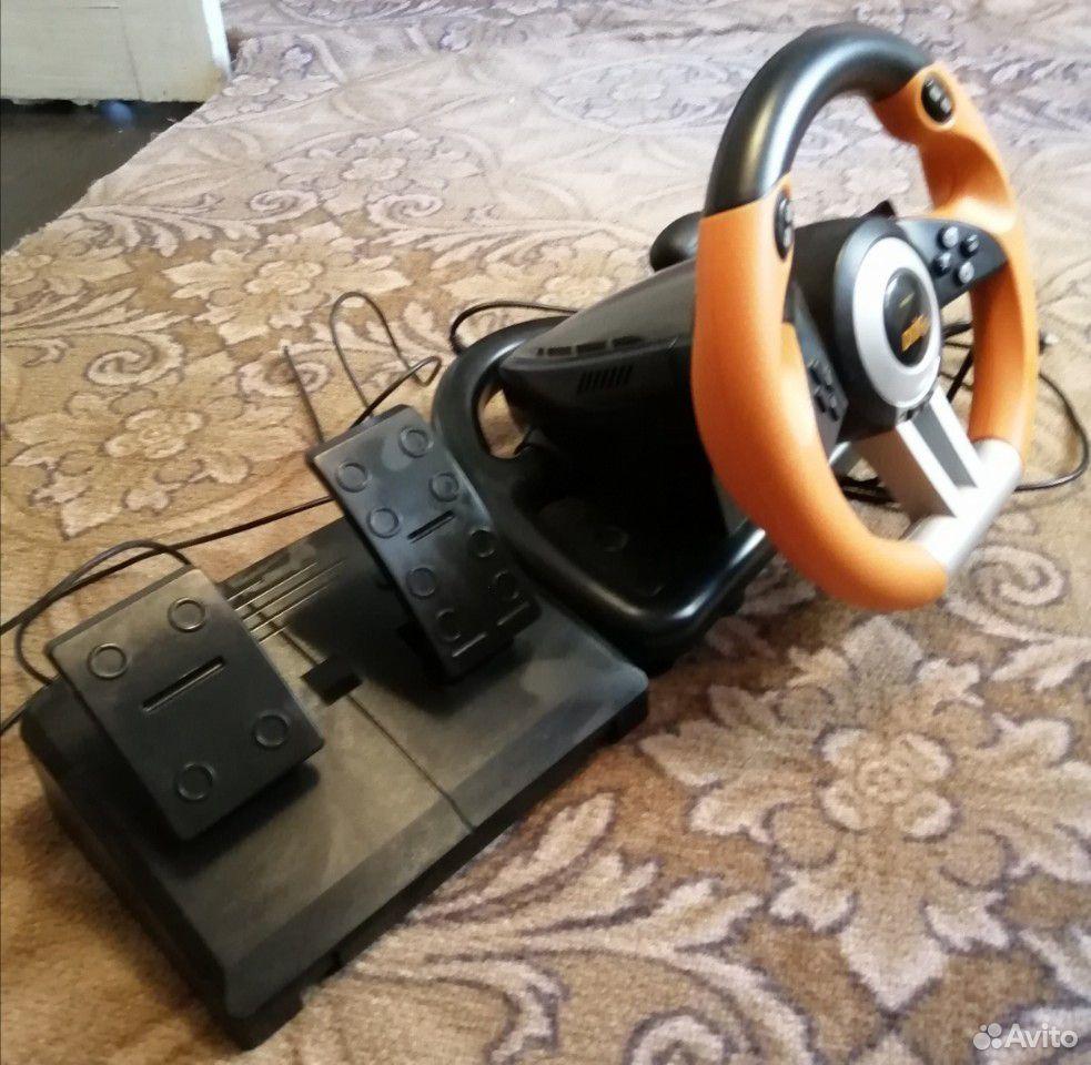 Руль игровой drift02 spidlink  89224220041 купить 1